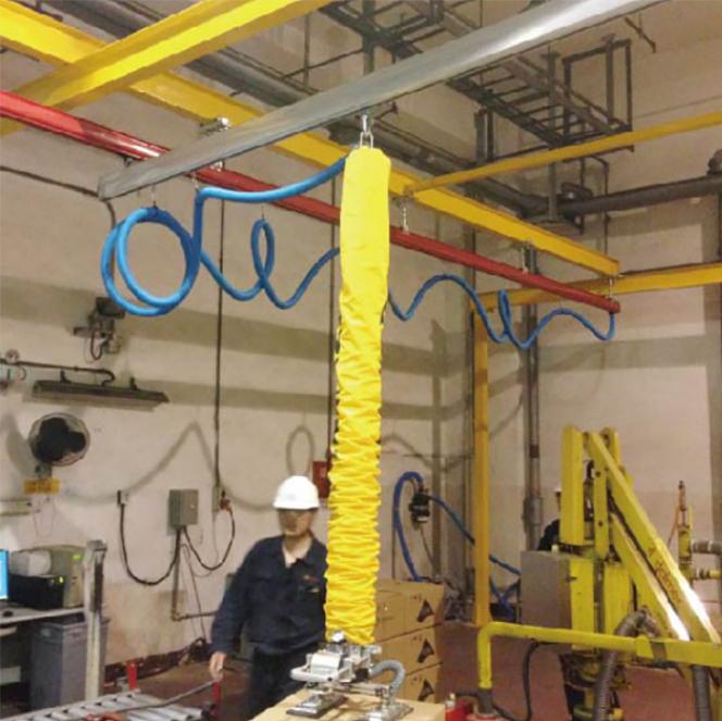伸缩型真空吸吊机 大型电动真空吸吊机 真空上料吸盘吊具