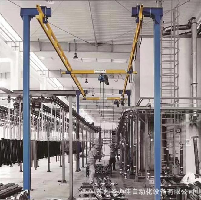厂家直销定钢轨悬臂起重机 高质量耐用悬臂起重机 小型悬臂吊
