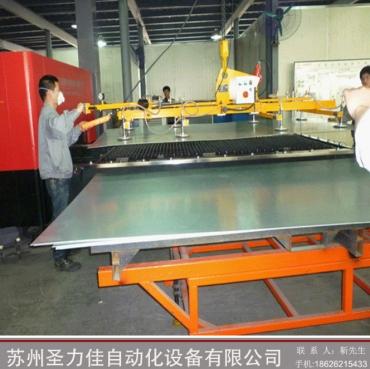 板材激光机钢板上下料真空吸盘框架式大型真空吸盘助力机械手